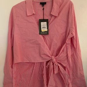 NWT Two for Button up top